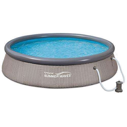 Summer Waves 12ft x 36in Quick Set Ring Above Ground Pool