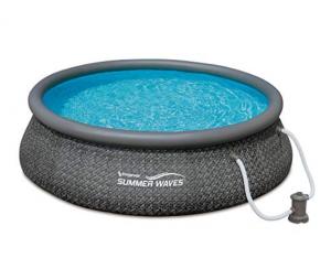 Summer Waves dark wicker pool Review