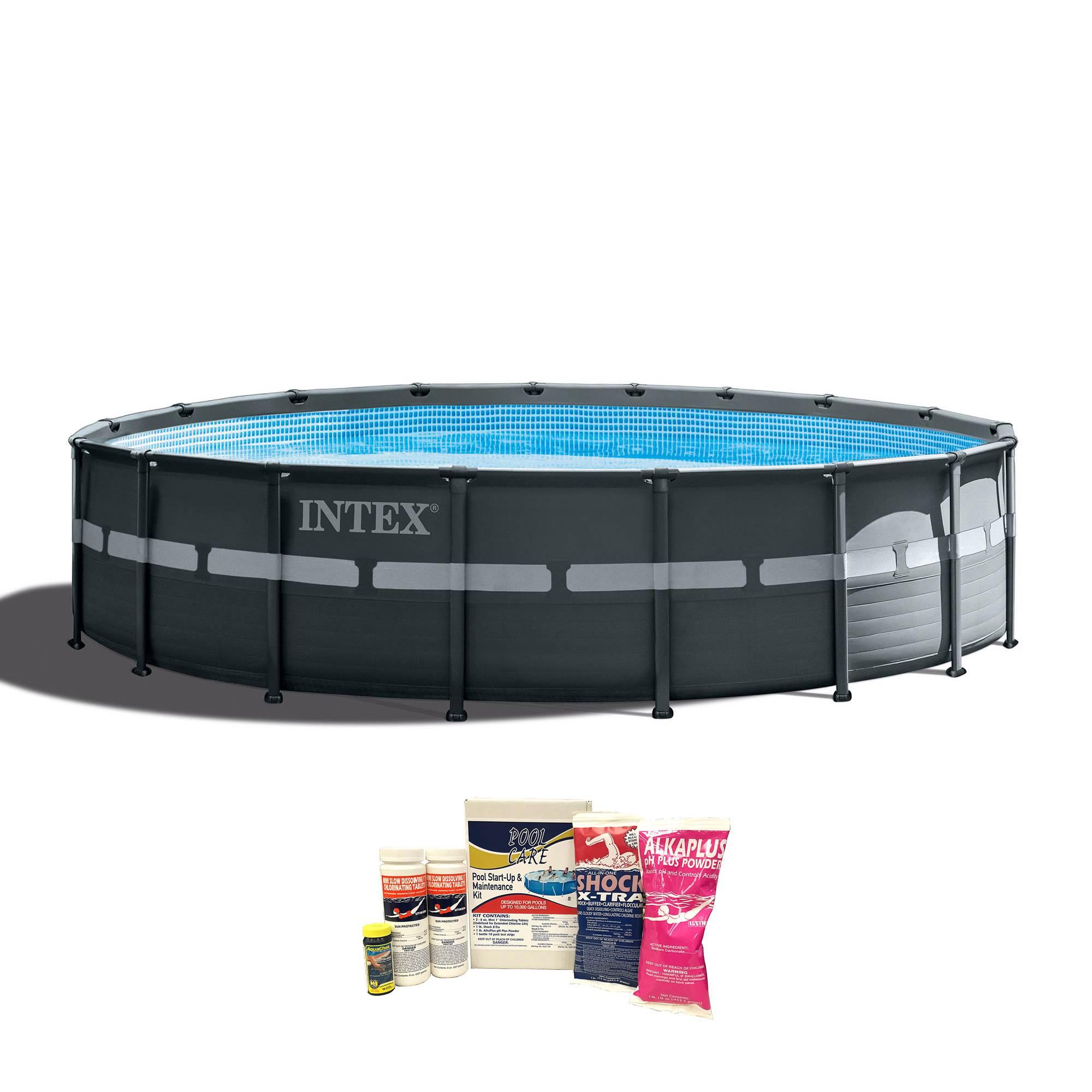 3 Intex Ultra XTR Pool Set