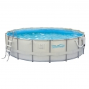 Summer Waves Elite Above Ground Swimming Pool With Metal Frame